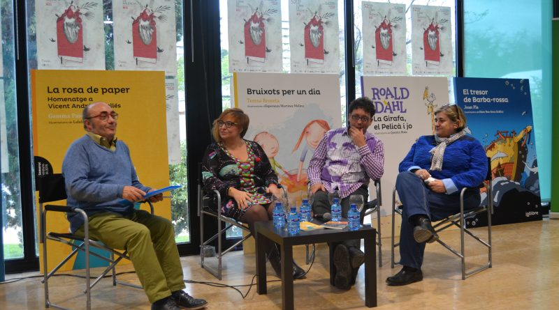 Gemma Pasqual, Carles Cortes i Esperança Camps